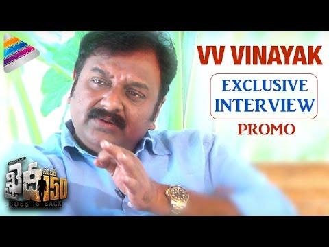 VV Vinayak about Khaidi No 150 Movie | VV Vinayak Exclusive Interview Promo | Chiranjeevi | Kajal