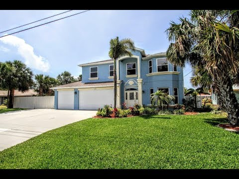 136 Bahama Blvd, Cocoa Beach, Florida, 32931, Waterfront home for sale, Banana river