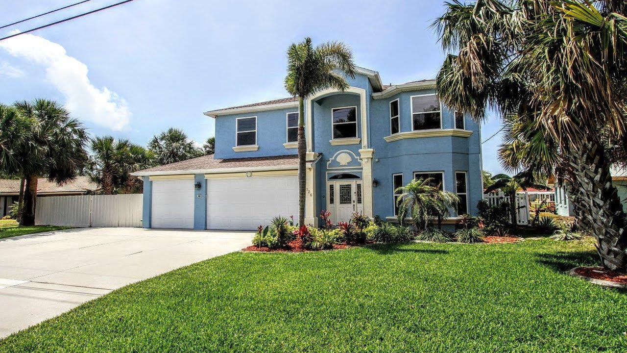 136 Bahama Blvd, Cocoa Beach, Florida, 32931, Waterfront home for sale,  Banana river