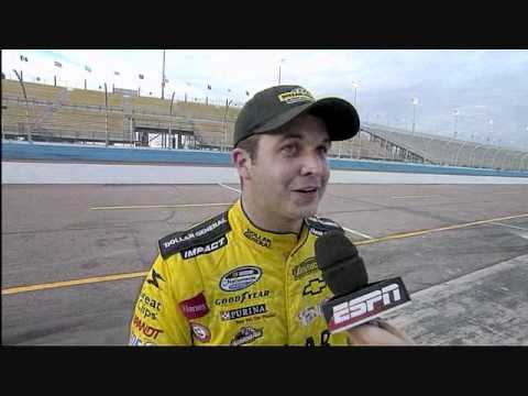 Post Race Interviews - 2011 Bashas' Supermarket @ Phoenix