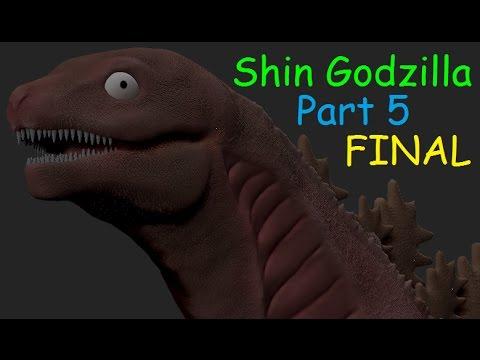 Shin Godzilla Third Form: PART 5 FINAL - YouTube