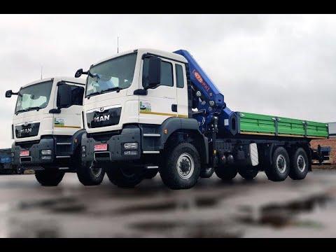В Украине впервые собраны и установлены на MAN 10-тонные краны-манипуляторы PM