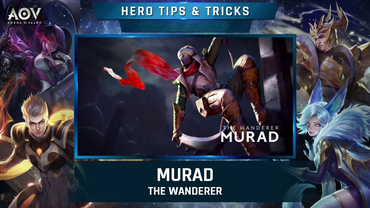 Skill Guide Series Murad Skill  Garena Aov Arena Of Valor