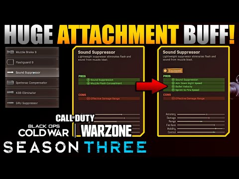 Change All Your Class Setups in Warzone | Suppressor Buff Changes Everything | New Best Class Setups