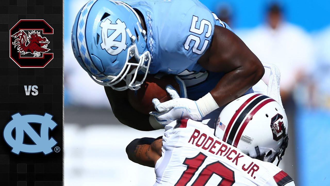 South Carolina vs. North Carolina Football Highlight (2019)