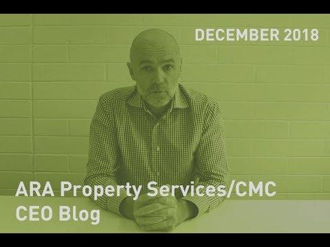 CEO Blog December 2018