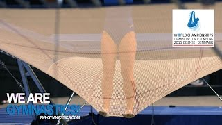 2015 Trampoline Worlds, Odense (DEN) - Take your marks !  - We are Gymnastics !