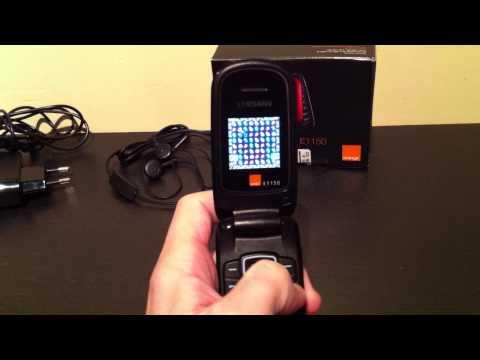 Test du Samsung E1150 | par Top-For-Phone.fr