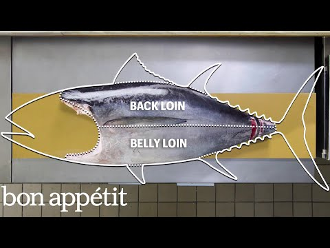 How To Butcher a Whole Tuna: Every Cut of Fish Explained | Beautiful Butchery | Bon Appétit