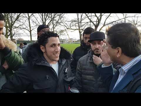 Shamsi And Visitor Speakers Corner Hyde Park