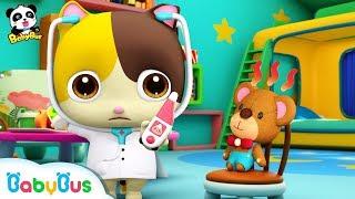 *NEW*고양이미미가 꼬마의사 되어요~!|치료해줄게요~|베이비버스 인기동화 동요모음|BabyBus