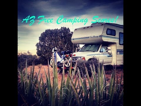 RV Livin: Kingman AZ. Free Camping, Hiking, and Route 66
