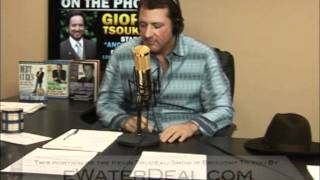Kevin Trudeau talks to Giorgio Tsoukalos from Ancient Aliens