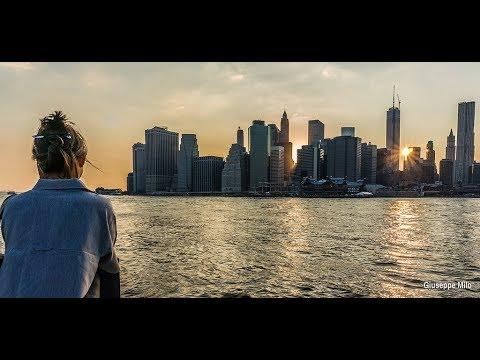 New York, New York! (101 Strings) (Lyrics)  Romantic & Beautiful 4K Music Video Album! H.D. Updated!