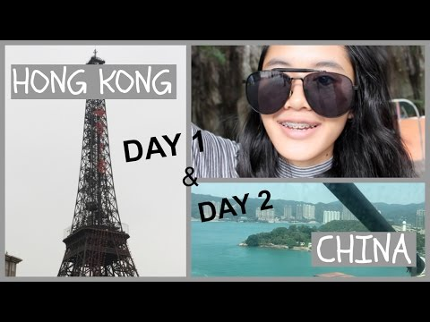 Vlog Day 1&2: Hong Kong, DELETED ALL THE FOOTAGE, China, Window of the World, Splendid China