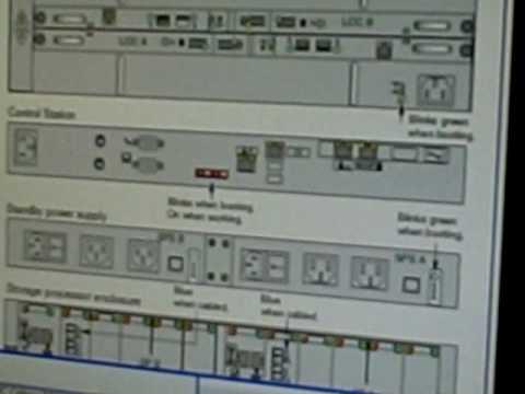 Jorge explains the Celerra NS-120 hardware configuration