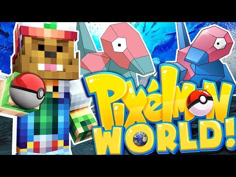 WE SET PORYGON-Z FREE THANKS TO YOU - PIXELMON WORLD #14