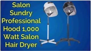 Salon Sundry Professional Bonnet Style Hood 1,000 Watt Salon Hair Dryer review