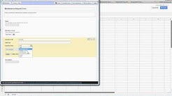 Create a maintenance form with Google Docs   Part 1