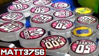 DESTROYING an Overfilled Prize Arm - TONS of TICKETS! | Arcade Nerd | Matt3756