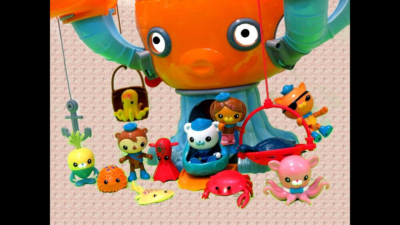 Octonauts Octopod Color Change Sea Creatures Itsplaytime612 Toys