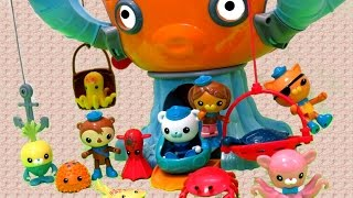 OCTONAUTS Octopod Color Change Sea Creatures | itsplaytime612 Toys Play