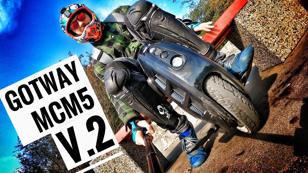 GotWay MCM5 V.2 - Best Commuter Rideable for 1000€ ??? EUC Review