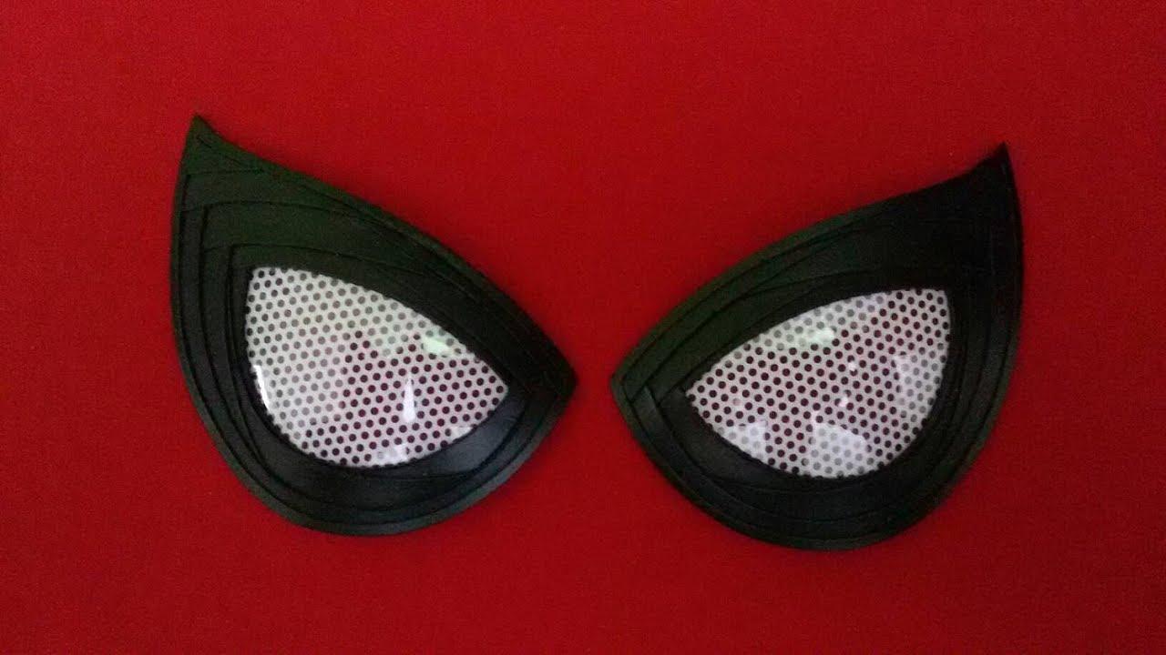 Spiderman eye lenses