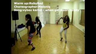 Vybe Kartel- when gal waan buddy dancehall workshop in Toronto