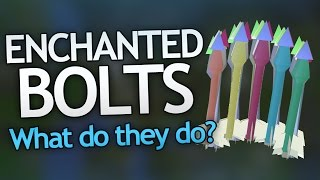 ENCHANTED BOLTS (Effects & Uses)