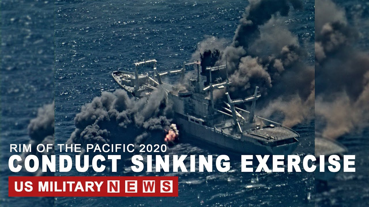 RIMPAC 2020 Conduct Sinking Exercise