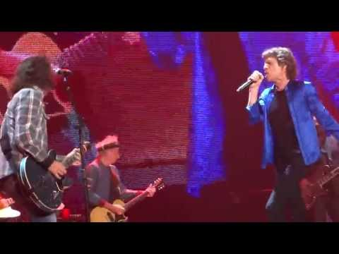 """The Rolling Stones & Dave Grohl """"Bitch"""" from the Tongue Pit - May 18, 2013 Anaheim, CA"""