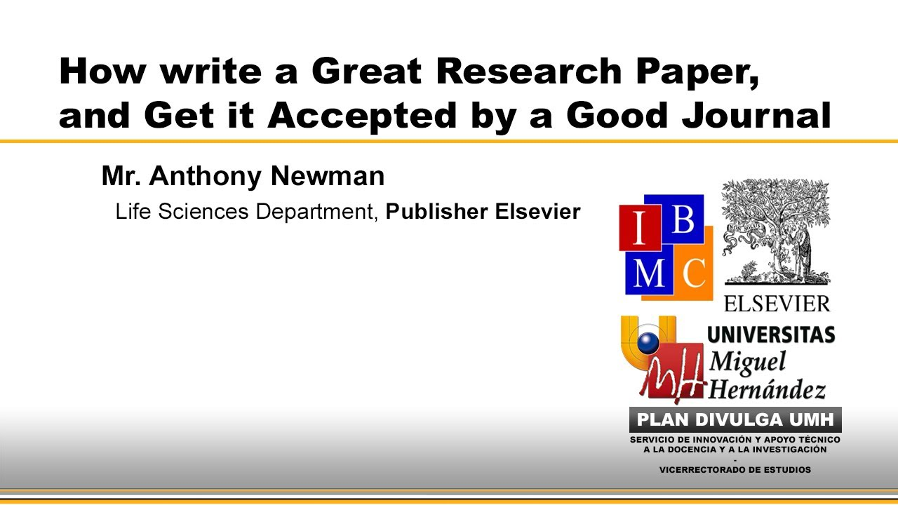 good ways to start a research paper