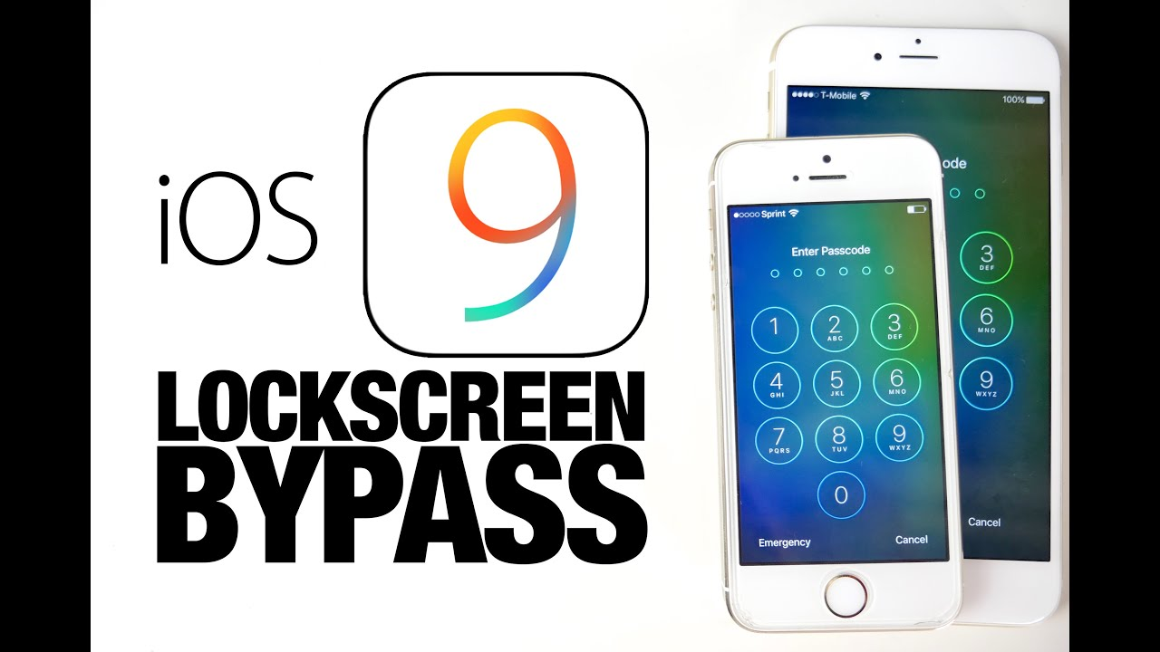 How To Bypass iOS 9 Lockscreen & Access Photos & Contacts