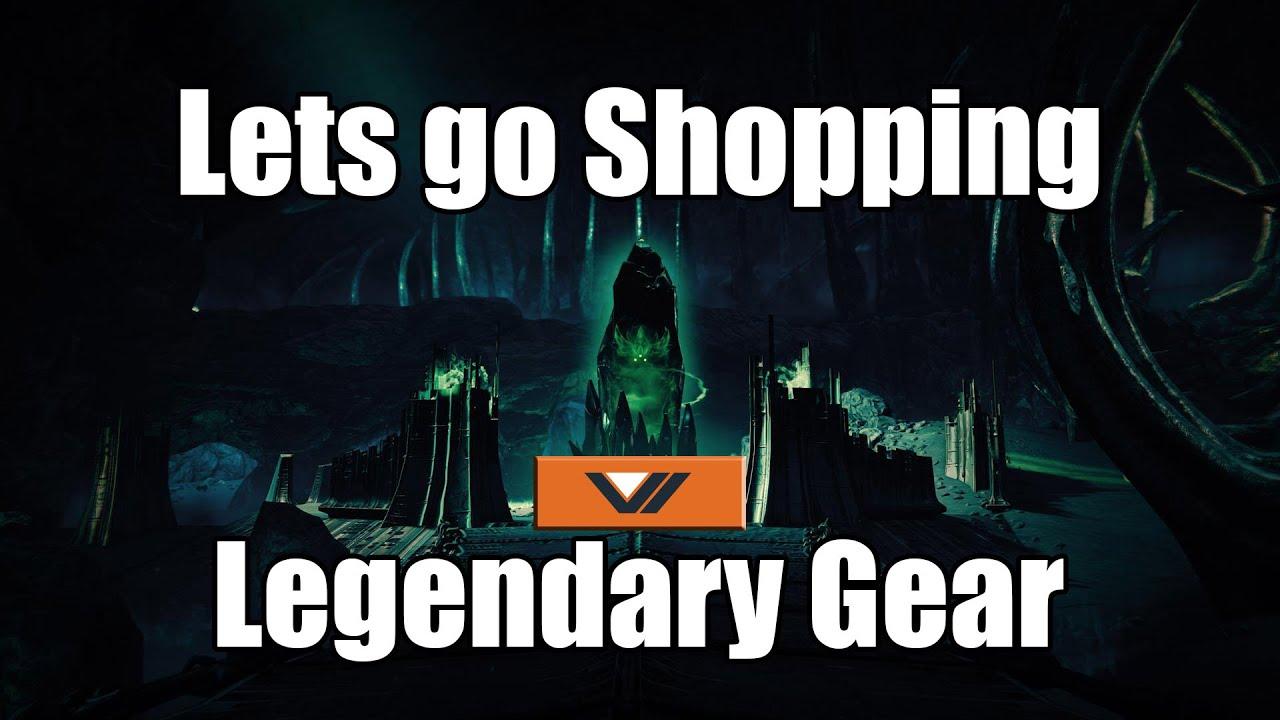 destiny how to get legendary gear