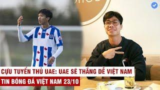 VN Sports 23/10 | HOT: Văn Hậu kiến tạo thành bàn trên đất Hà Lan, C.Phượng làm điều đặc biệt từ Bỉ