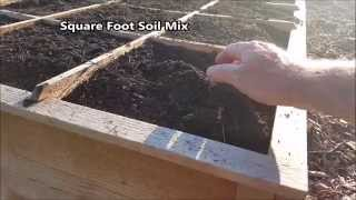 Raised Bed Garden Soil Mixture In 90 Seconds