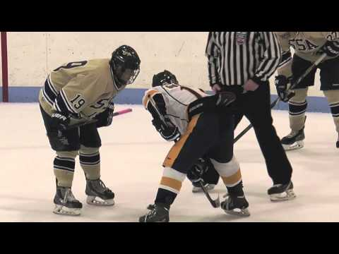 Shady Side Academy Boys Prep Ice Hockey vs Pittsburgh Predators Highlight Video 10-12-14