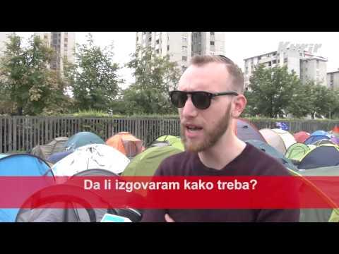 EXIT KAMP ANKETA: Šta gosti prvo pomisle kada čuju reč - Srbija