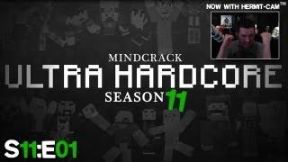 "Mindcrack UHC 11 - Ep01 ""Now With Hair Metal Vocals & Hermit Cam!"""
