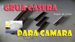 GRUA O PLUMA CASERA PARA CAMARA -1