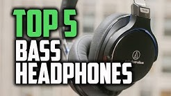 Best Bass Headphones in 2018 - Which Headphones Have The Best Bass?
