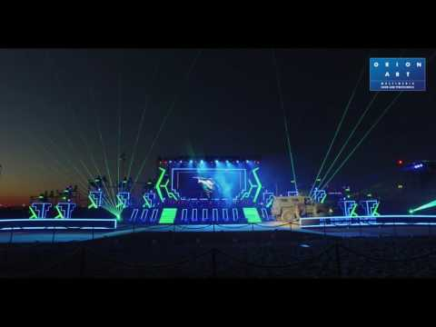 KADEX 2016 Лазерное шоу // Orion-Art Laser beam show