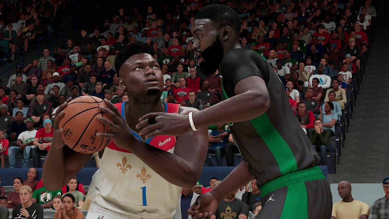 Boston Celtics vs New Orleans Pelicans   NBA Today 2/21/2021 Full Game  Highlights (NBA 2K21) - YouTube