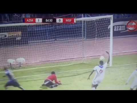 Goli la Ramadhan Singano FT. Azam F.C. 1-0 Mbabane Swallows F.C. | CAF Confederation | 12/3/2017 |