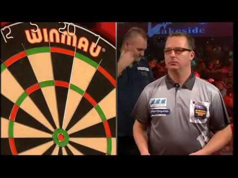 Darts World Championship 2014 Round 2 Atkins vs Hofstra