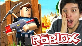 FORTNITE EN ROBLOX !! - Roblox (Island Royale)