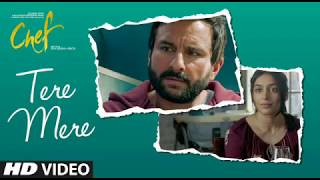Chef: tere mere video song | saif ali khan | amaal mallik feat armaan malik | t-series