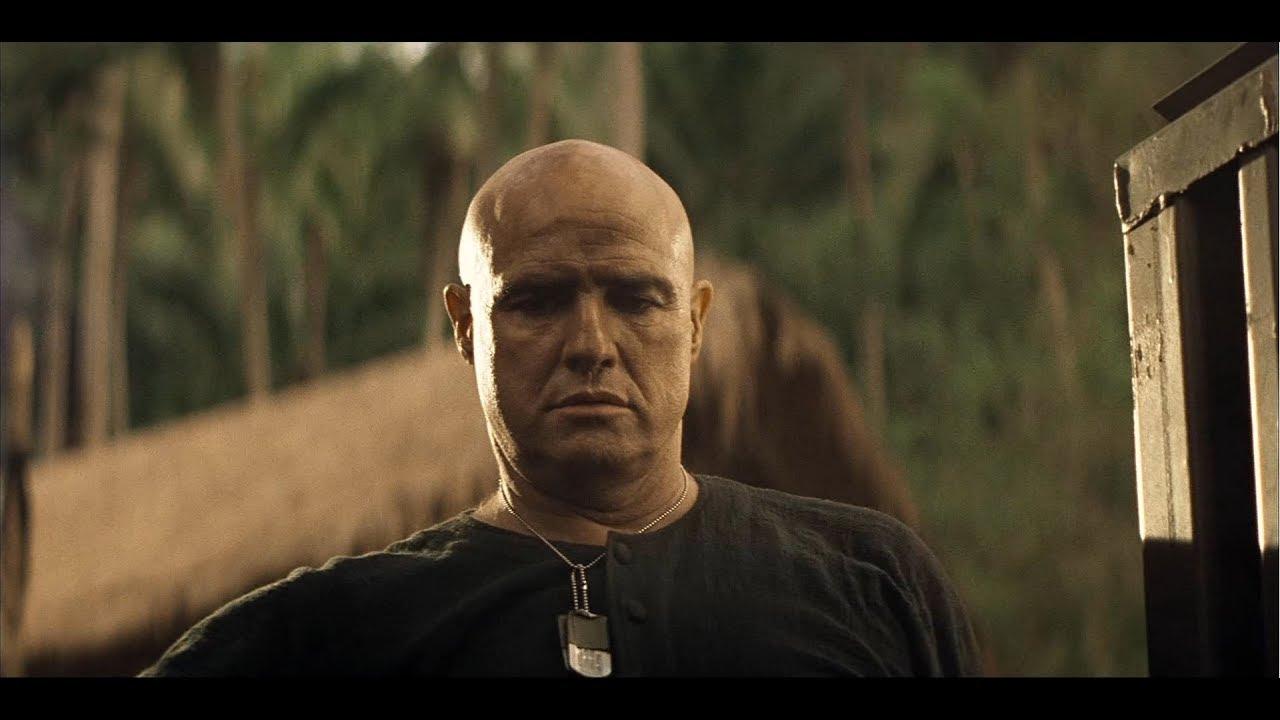 """Apocalypse Now (1979) - Kurtz (Marlon Brando) is reading a """"Time ..."""