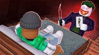 I got TRAPPED in JOKERS Scary House in Roblox!